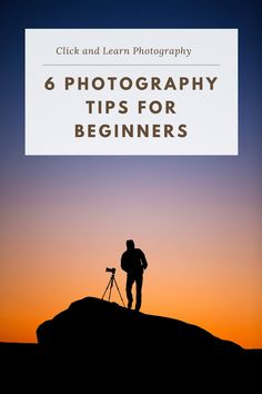 Click and Learn Photography brings you 6 quickfire photography tips for beginners as we continue to provide extremely useful but bitesize advice for your photography journey #photography #photographytips #beginnerphotography #learnphotography Dslr Photography Tips, Indoor Photography, Wedding Photography Tips, Photography Tips For Beginners, Photography Business, Photography Tutorials, Amazing Photography, Learn Photography, Travel Photography