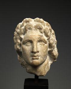 Portrait of Alexander the Great 3rd century B.C.