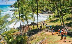 Praia de Havaizinho em Itacaré, Bahia
