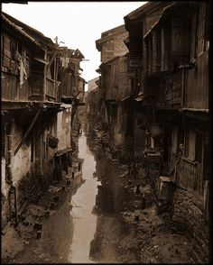Interior Canal, Canton, China [c1917-1919] Sidney D. Gamble