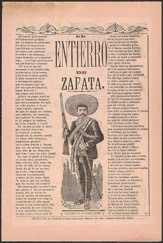 El entierro de Zapata. 1914. Library of Congress.