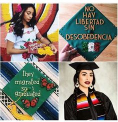 Mexican Girl Graduation Cap Grad Ncc Pinterest