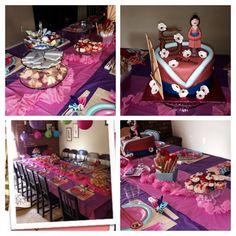 Mulan birthday party!
