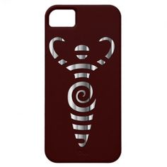 Spiral River Goddess - Chrome - 3 iPhone 5 Covers #iPhonecase #iPhone #goddess #pagan #wicca