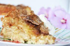 Torta de manzanas súper fácil y rapidísima