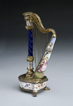 Original harp perfume bottle