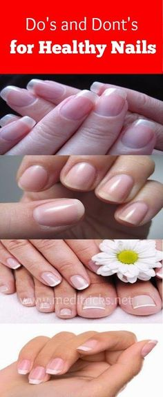Dos and Donts For Healthy Nails | Medi Tricks