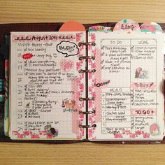 My completed week! I love using these inserts as diary pages! #filofax #filolove…