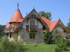Flagstone, Cabin, House Styles, Hungary, Google, Home Decor, Decoration Home, Room Decor, Cottage
