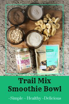 Trail Mix Smoothie B