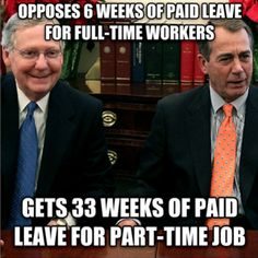 Paid Leave for Everyone, Not Just Politicians
