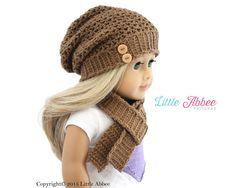 Download Now  CROCHET PATTERN 18 Doll Madison by littleabbee