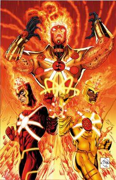 The Fury of Firestorm | By: Ethan Van Sciver, via Comic Art Community (#firestorm)