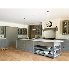 This beautiful Art Deco property in Northwest London has been beautifully renovated throughout, deVOL were involved in the making and fitting of the beautiful living kitchen... we love it! #deVOLKitchens
