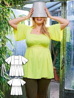 Greenhouse Gals: 9 New Plus Size Patterns for Women