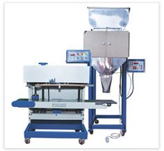 Semi Automatic Filling and Sealing Machine pack powders & granules and is available in combination with multipurpose functioning units comprising pouch sealing machine, volumetric cup filler, weighing unit, volumetric cup.  http://www.elegantpackagingmachines.com/filling-sealing-machines.html