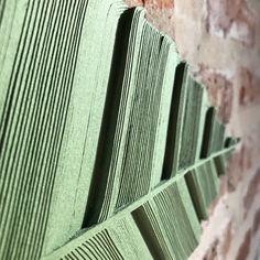 Hojas de papel. Leaf. Handmade paper art by @arte.minerva