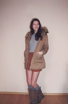 today outfit boots - zara jacket - www.oasap.com