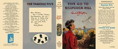 Five Go to Billycock Hill. Enid Blyton.