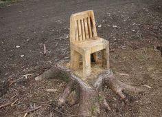 wood chair :)