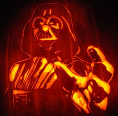 Death Star ★ carved pumpkin jack-o-lantern by Noel Dickover ...