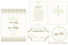 annadel wedding invitation by hello tenfold for bella figura