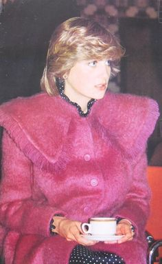 March 22, 1982: Princess Diana accompanied Prince Charles on a visit to the St Patrick's Catholic Centre in Huddersfield, which is assisted by the Prince's Trust.