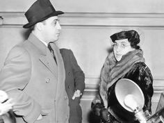 Al Capone's Mother Teresa, and Brother Ralph Photographed in Federal Prison at Terminal Island People Photo - 61 x 46 cm Al Capone, Chicago Outfit, Real Gangster, Federal Prison, Mother Teresa, The St, Designs To Draw, Brother, Island