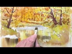 How to paint fall colors Part 2 - YouTube
