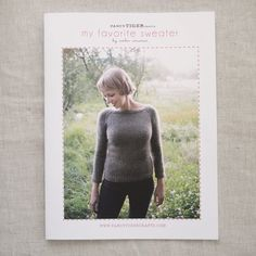 My Favorite Sweater Customizable Knitting Pattern by by fancytiger, $6.00