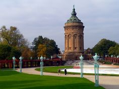 Mannheim Water Tower.    Mannheim was home for 5 years - beautiful place & wonderful people.