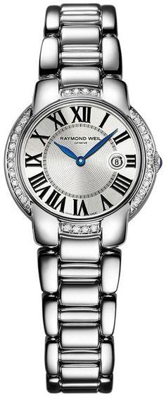 I like the blue hands & side sapphire Raymond Weil Watch