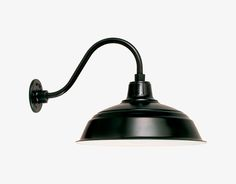 Our Warehouse Shade Collection is a series of durable goose neck barn lights, wall lights, & pendants created with customer satisfaction in mind. Choose from a variety of colors and accessories to create customized and unique fixtures. Hang these...