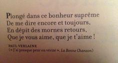 Paul Verlaine encore et toujours Les poèmes d'amour