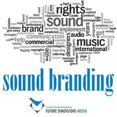 The use of sound to reinforce brand identity - taking advantage of the powerful memory a sense of sound can create. Learn: http://futuredimensions.co.za/solutions/