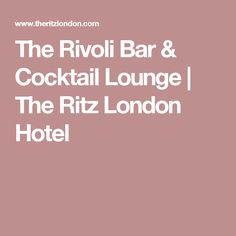 Stylishly designed, The Rivoli Bar is an intimate cocktail lounge providing a dazzling oasis away from the bustling London Mayfair streets. London Hotels, Cocktails, Lounge, Bar, Cocktail Parties, Airport Lounge, Cocktail, Lounges, Living Room