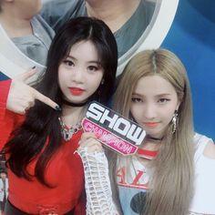 @showchampion Update || (G)I-DLE Soyeon & Soojin