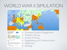 World War 2 Simulation Lesson Plan. An interactive and engaging lesson plan that gets students excited and interested in World War II!