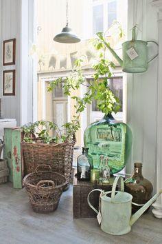 VIBEKE DESIGN: Blå & grønne favoritter....