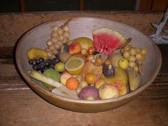 Stone fruit Fruits And Vegetables, Veggies, Colonial Decorating, World Decor, Stone Fruit, Needful Things, Early American, Primitives, Old World