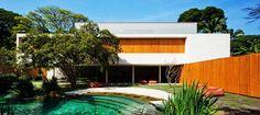 Modern Single Family Residence- Cobogó House by Marcio Kogan