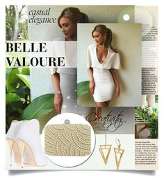 """""""Belle Valoure"""" by smasy ❤ liked on Polyvore featuring women's clothing, women, female, woman, misses, juniors and bellevalourecouture"""