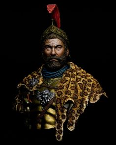 Hannibal Barca by Jason Zhou · Putty&Paint Ancient Aliens, Ancient History, Rome History, Theseus Greek Mythology, Tattoo Guerreiro, Hannibal Barca, Heroes And Generals, Punic Wars, Alexander The Great