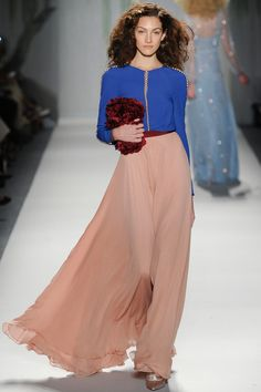 COLOR! Jenny Packham Spring 2014