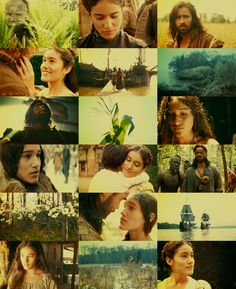 The New World- One of my favourite love stories and movies.