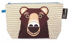 Stifte Etui mit Tiermotiv Bär