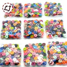 Free Shipping Resin Sewing Button Round 9mm( 0.34in) Dia accessory scrapbooking for child cloth Candy color child button DIY