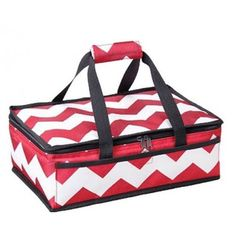 Chevron Stripes Casserole Carrier