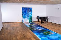 Contemporary music performance of violinist HIROKA MATSUMOTO pianist YURIE MATSUMOTO and paintings of ERZSEBET NAGY SAAR FILMQUARTIER WIEN, SILENT LOFT 2018 Photography Andrea Biasutti #music#erzsebetnagysaar#art#artist#contemporary#fineart#artoftheday#kunst#painting#followme#malerei#modernart#zeitgenössischekunst#abstract#artwork#kunstwerk#artlovers#viennabasedartist#viennaart#bigproject#galerie#artworld#acrylicpainting#contemporaryartist#atelier#visualart#studio Modern Art, Contemporary, Loft, Paintings, Fine Art, Studio, Abstract, Gallery, Music