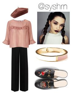 """""""Untitled #677"""" by syshrn on Polyvore featuring Alexander McQueen, Miss Selfridge, Accessorize, Gucci and Old Navy"""